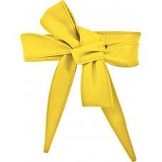 Bindegürtel 3cm - Sunshine Yellow - Gelb