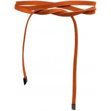 Super Slim 1 cm Bindegürtel - Buddha Orange - Orange medium