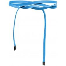 Super Slim 1 cm Bindegürtel - Azur Blue - Azur Blau