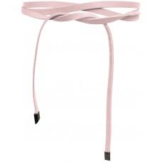 Super Slim 1 cm Bindegürtel - Rose - Rosa