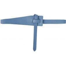 Blazer Retro Gürtel - Denim -Blau