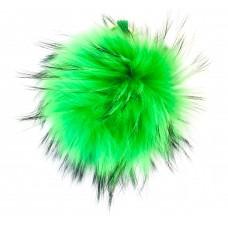 Pelzbommel - Neon - Grün