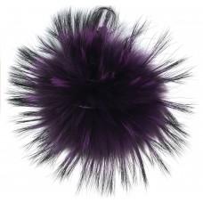 Pelzbommel - Ultra Violet - Silber