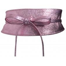 Obi Gürtel - Pink Metallic - Rosa metallic