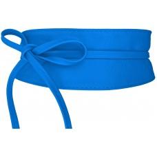 Obi Gürtel - Azurro - Mittel Blau