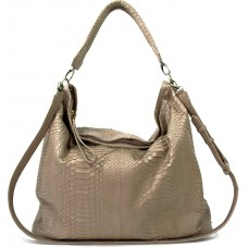 NYC Bag big - Sand Python